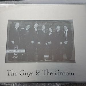 Wedding Set of 4 The Guys and the Groom Frames